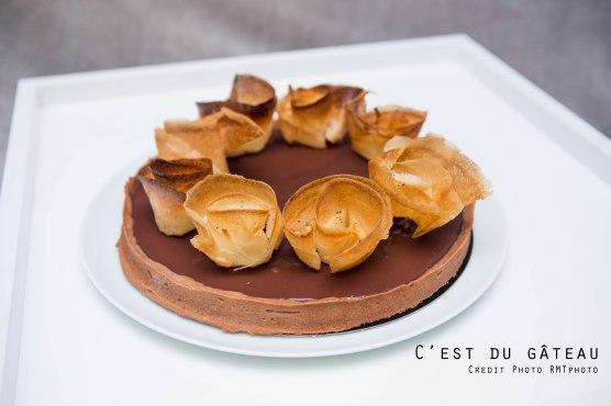 Tarte au chocolat-1 label