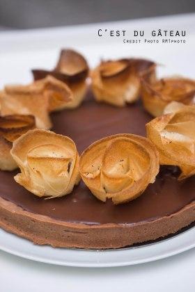Tarte au chocolat-3 label