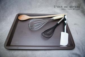Conseils, cuillère en bois, débuter en pâtisserie, fouet, la pâtisserie pour les nuls, maryse, matériel, plaque à pâtisserie, spatule, ustensile