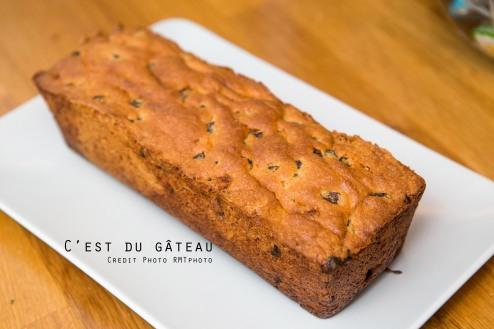 Cake aux raisins-1 label