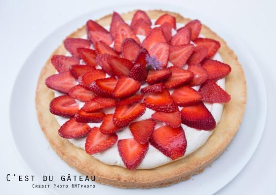 Tarte aux fraises-1 label