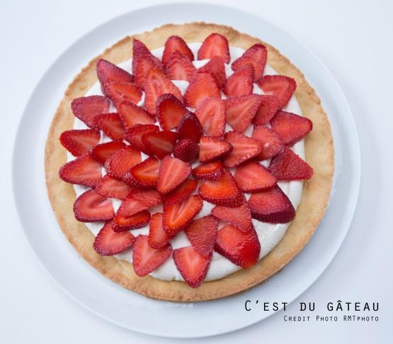 Tarte aux fraises-2 label