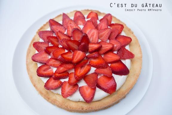 Tarte aux fraises-3 label