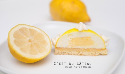 Dôme au citron-4 label