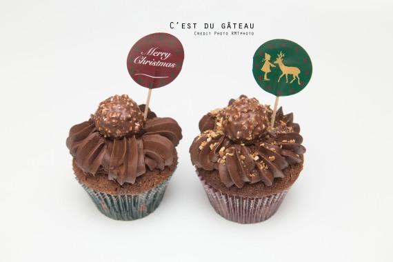 cupcakes chocolat noisette-1-label